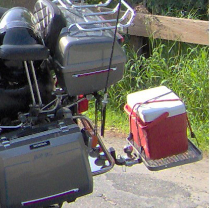 MotorCycle Cooler Carrier - MotorCycles123.com
