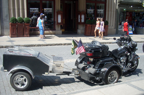 www.Motorcycles123.com - Trike and Trailer in Quebec